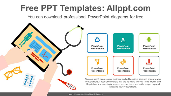Online Doctor Powerpoint Diagram For Free